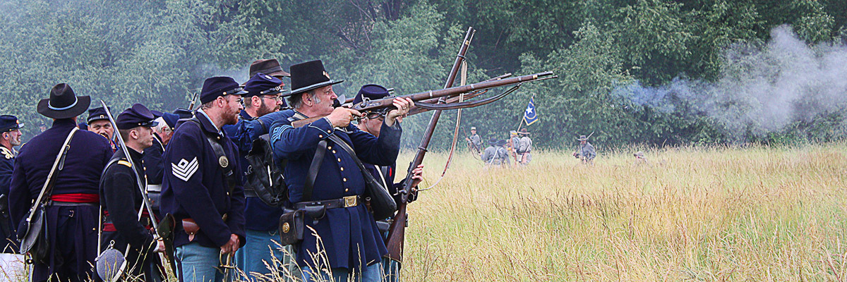 CIVIL WAR REENACTMENT - Union Gap, WA