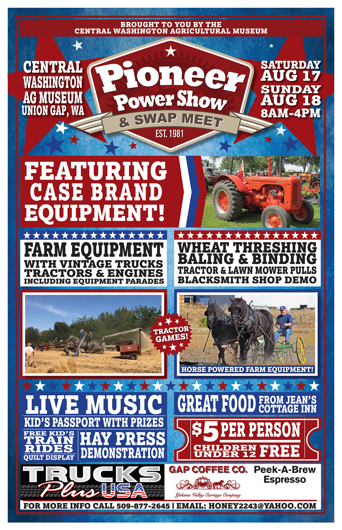 ANNUAL PIONEER POWER SHOW & SWAP MEET - Union Gap, WA